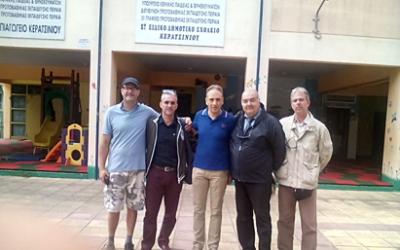 Επίσκεψη στο 1Ο Ειδικό Δημοτικό Σχολείο Κερατσινίου